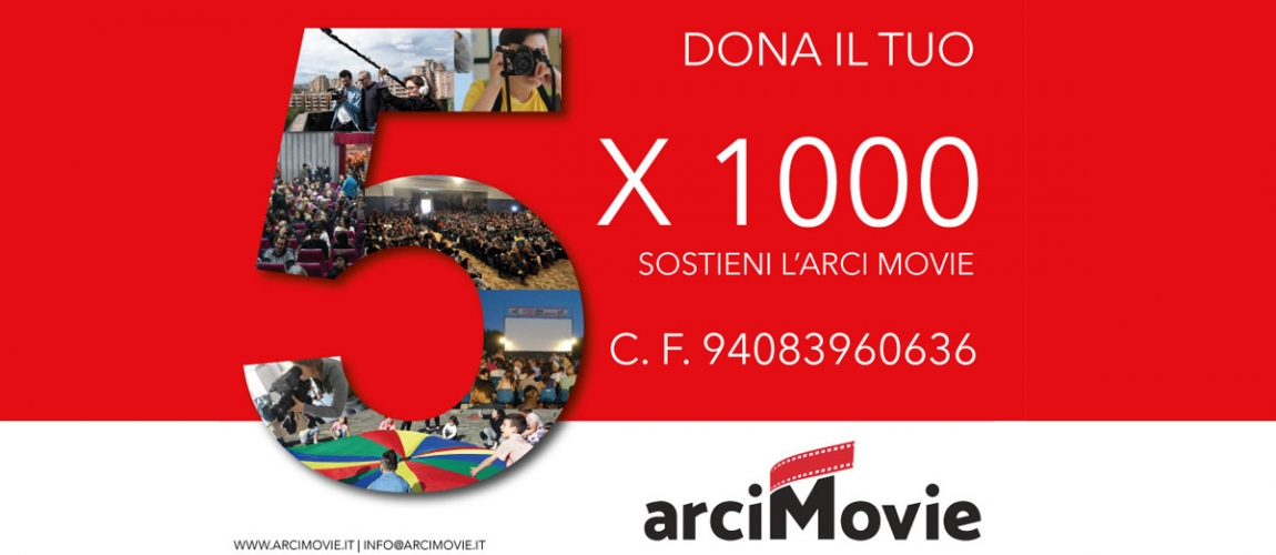 Dona il 5X1000 all'Arci Movie